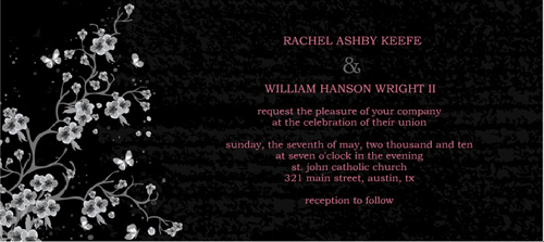 print free wedding announcements