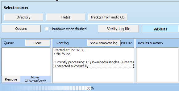 Audiochecker - Check The Origins Of Your Music Files ACK Check