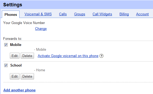 Hook up phone to google voice
