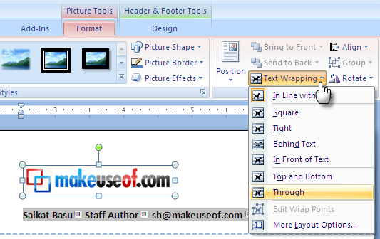 How To Create Custom Stationery With A Quick Letterhead In Microsoft Word 2007 MSWord06