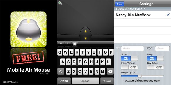 The 7 Best Free Remote Control Apps for the iPhone MobileAirMouse2