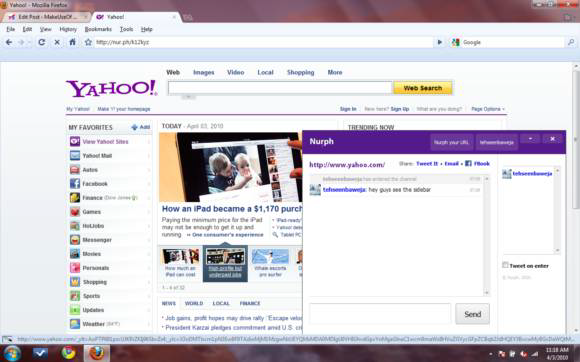 social web browsing