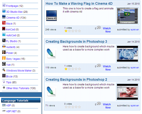 12 Great Free Video Tutorial Sites To Brush Up Your Tech Skills Video Tutorial04