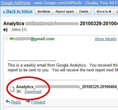 How To Put Google Analytics to Work for You With Email Reports auto71
