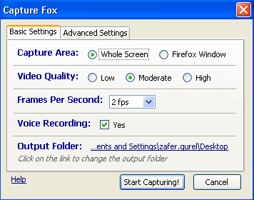 record a screencast