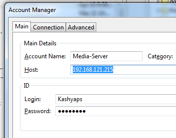 how do i set up an ftp server
