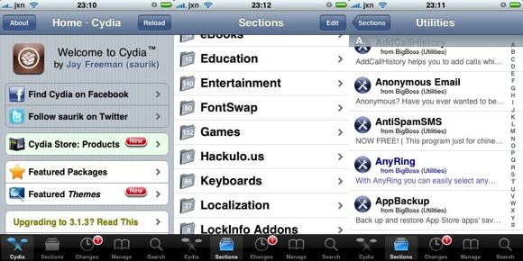 A Newbie's Guide to Jailbreaking [iPhone/iPod Touch/iPad] cydia