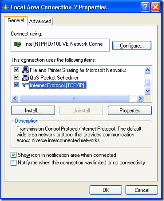 how to set up a network domain