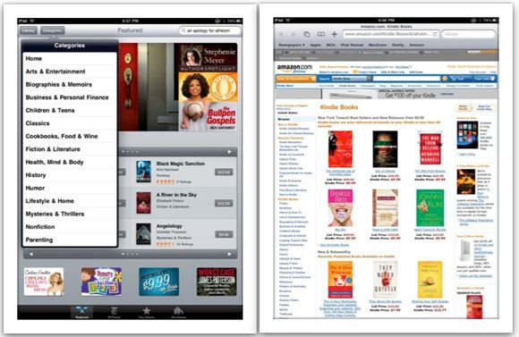 how to read ebooks on an ipad
