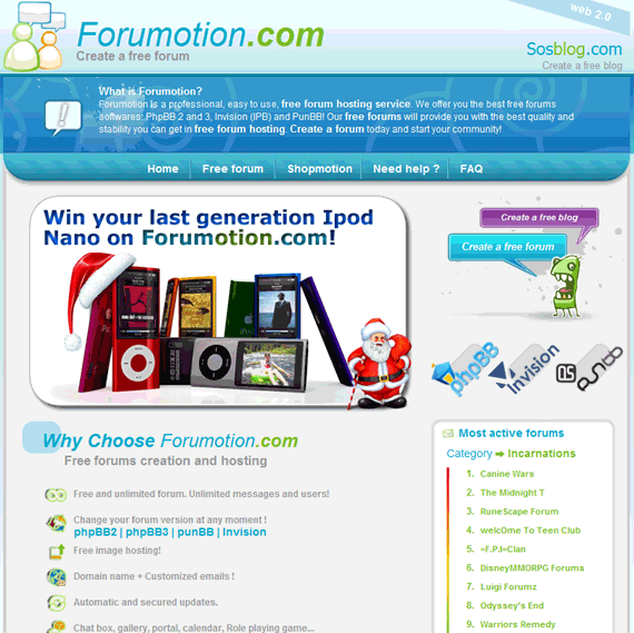 create own forum