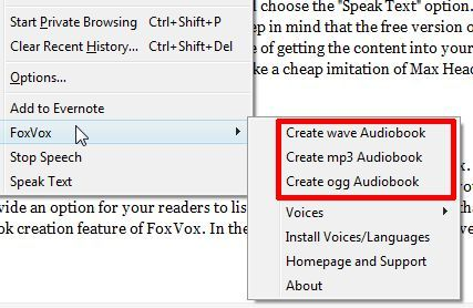 text to voice firefox
