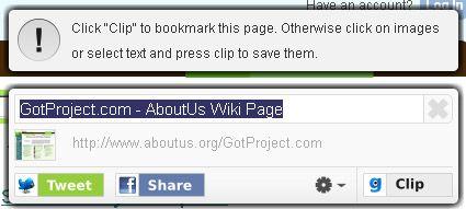 clip web content