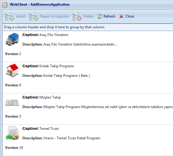 create online database applications