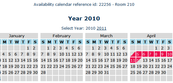 free embeddable calendar
