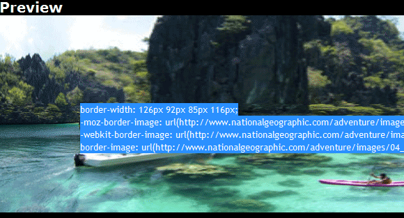 css border images