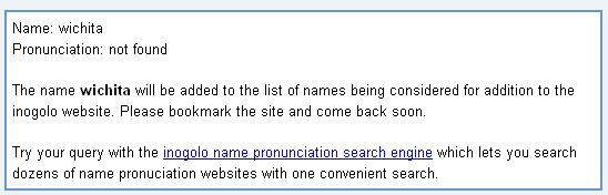 correct name pronunciation