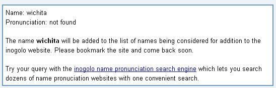 correct name pronunciation