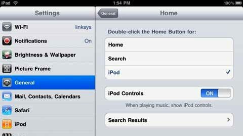how to set up an ipod