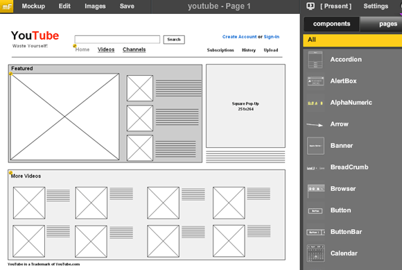 3 Tools to Create Mock-Up Designs and Wireframes Online mockflow