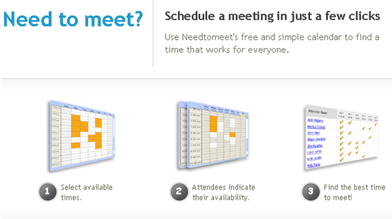 online meeting organizer