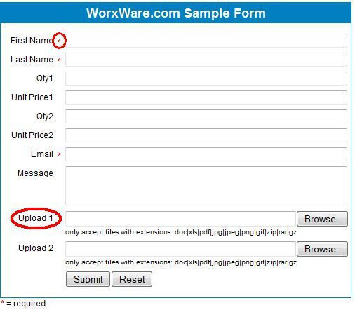 Allow a Visitor to Send a File via Email HTML Form With PHPMailer phpmail4
