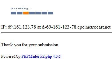 Allow a Visitor to Send a File via Email HTML Form With PHPMailer phpmail8