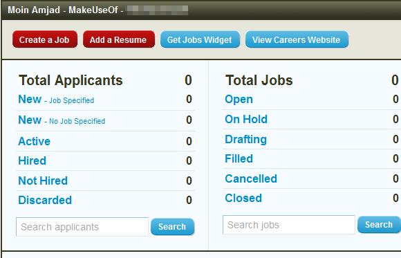 resume management