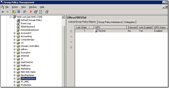 active directory group policy