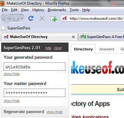 browser password manager