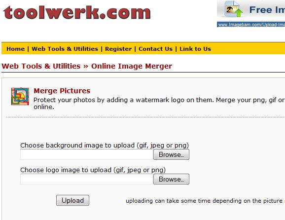 toolwerk   Toolwerk: Merge Two Images Online