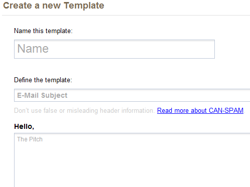 marketing email templates
