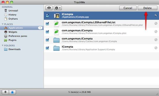 Two Simple Steps To Clean Up Your Applications Library [Mac] 04d TrashMe Delete
