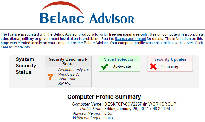 3 Ways to Recover Serial Numbers in Windows Belarc Advisor 670x400