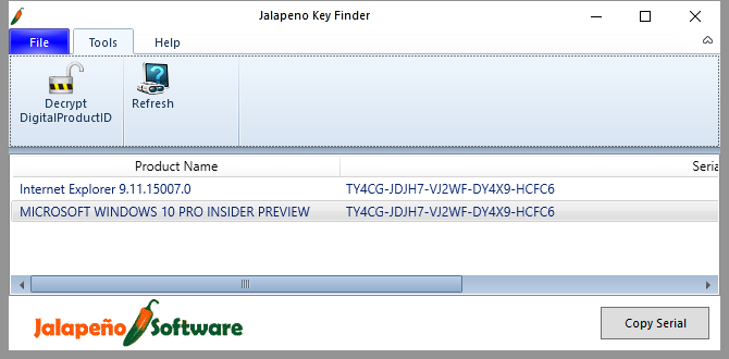 3 Ways to Recover Serial Numbers in Windows Jalapeno 670x330