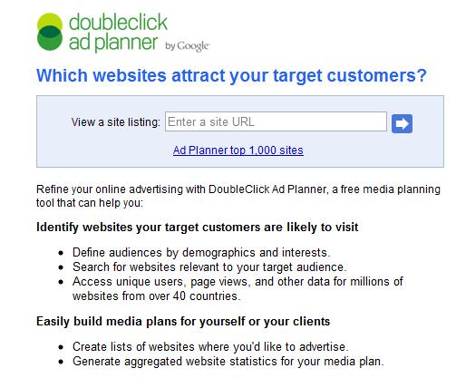 display ads on website