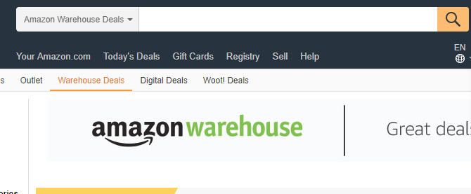 The MakeUseOf Online Shopping Guide amazon warehouse deals 670x277