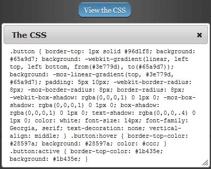css button code