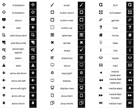 free developer icon set