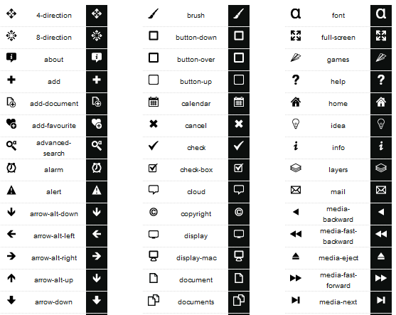 free developer icon set