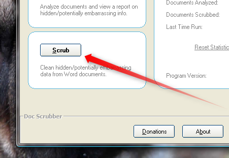 How To Scrub Metadata From Word Documents [Windows] docscrubber scrub