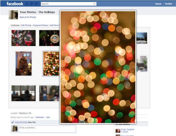 enlarge facebook photos