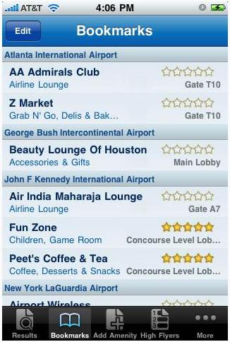 airport restaurant reviews