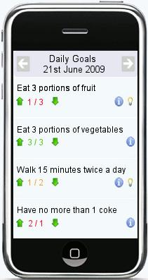 goal setting application