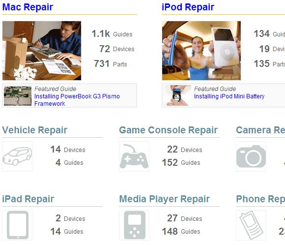 free online repair manuals