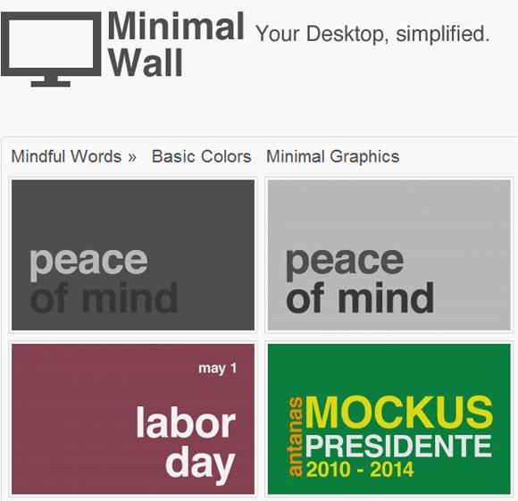 minimalist wallpapers