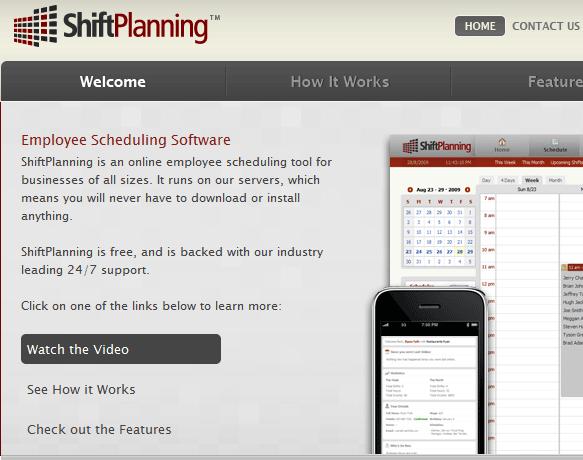 employee schedule software