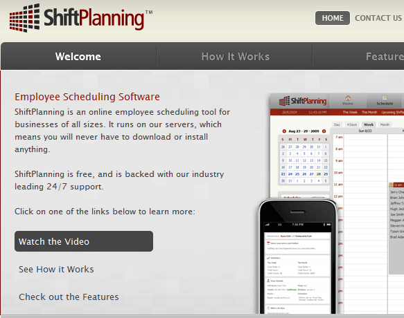 shiftplanning  employee schedule management software online