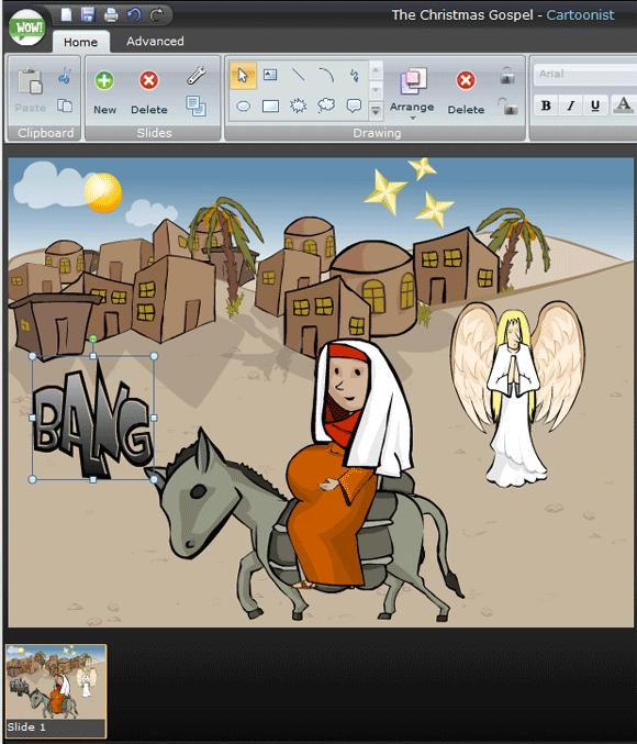 image thumb56   Creaza: Free Multimedia Tools For Kids Online