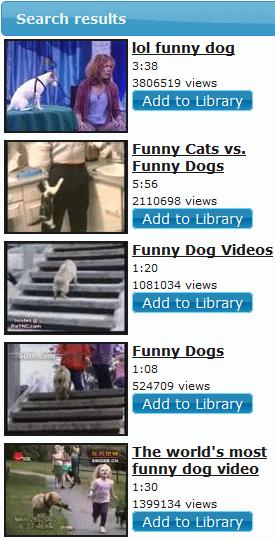 organize youtube videos