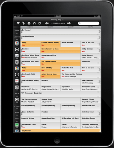 mobile tv guide app